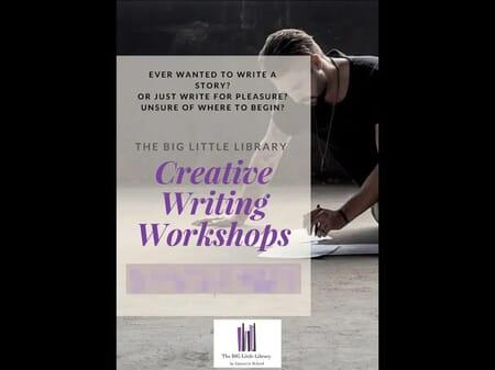 CREATIVE WRITING FLYER